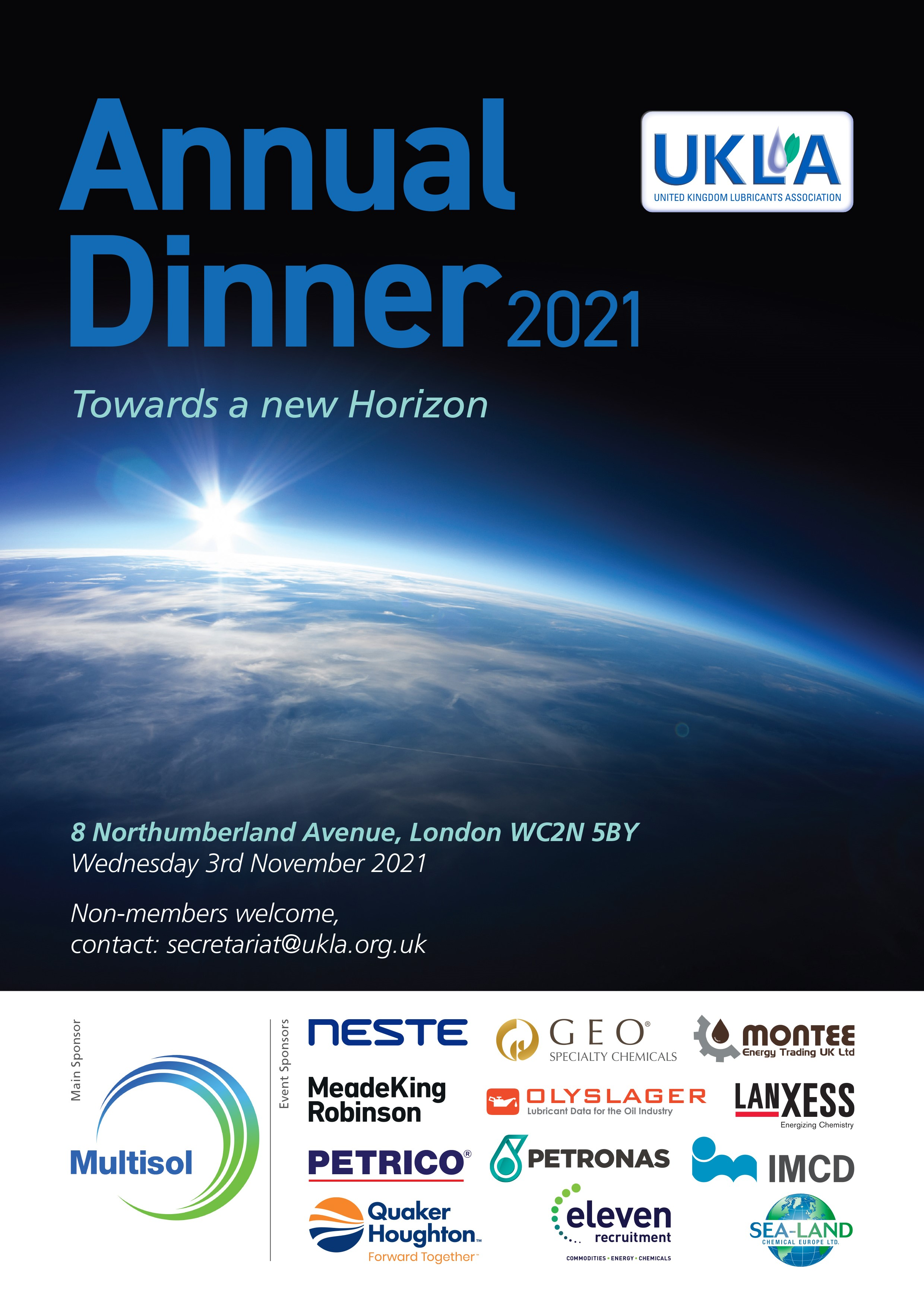 Annual Dinner Ad 2021