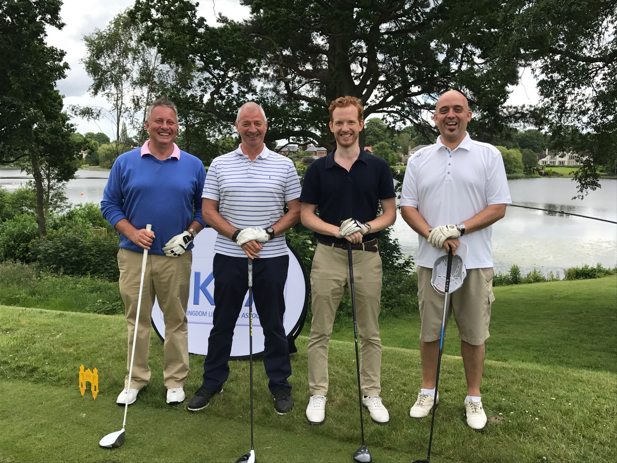 UKLA Golf Day Winning Team